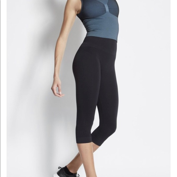 7fed97d0e814a bodyfly Pants | Seamless Capri High Or Low Waist Fold Sml | Poshmark